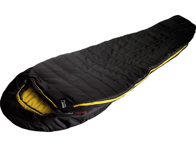 High Peak Pak 1000 Sleeping Bag Black/Curry